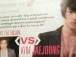 Jaejoong Dibandingkan Dengan Robert Pattinson