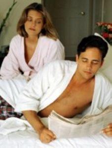 pria di ranjang