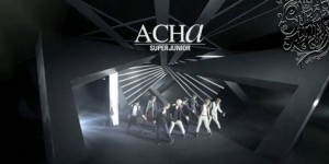 Cap MV A-Cha Super Junior
